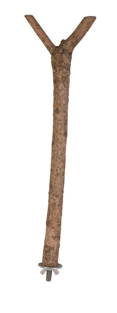 Sittepinne Y formet tre 35 cm