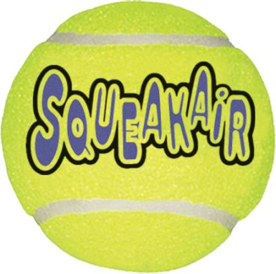 Kong Airdog Tennisball medium squeaker 7 cm