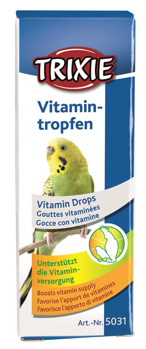 Trixie vitamindråper til fugl 15 ml