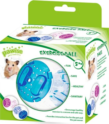 Hamsterball Roll-n -around Ø12.5 cm mix farger