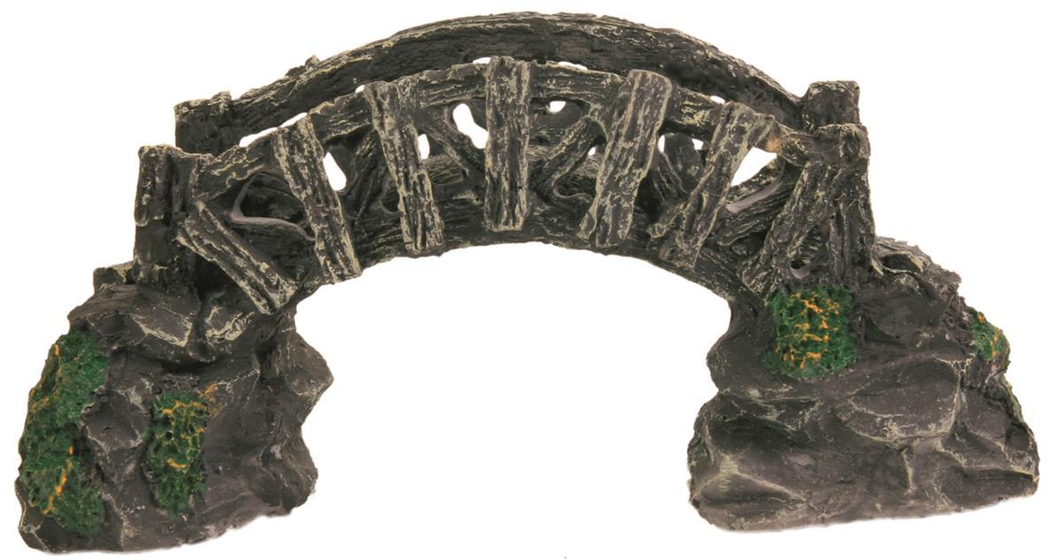 Akvariedekor bro 17 cm