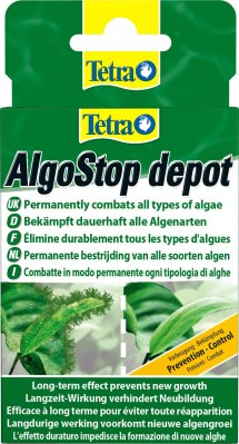 Tetra ALGO-STOP depot 12TAB mot penselalger