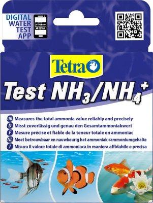 TETRA TEST AMMONIAK NH3/NH4 Nok til ca 25 tester