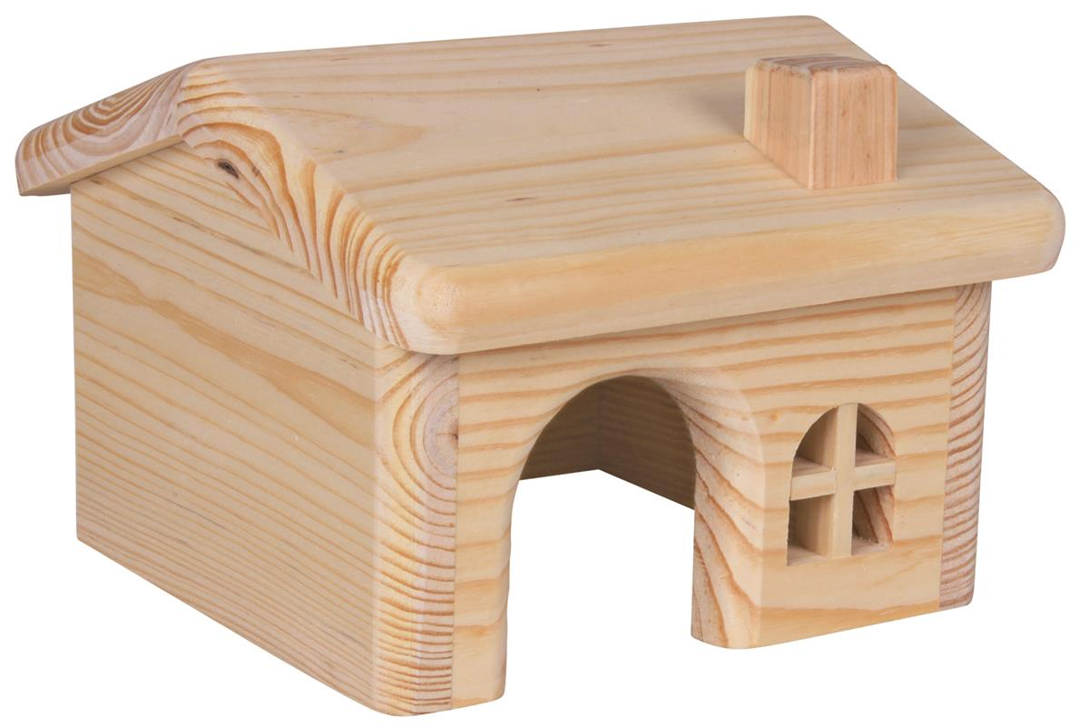 Hus til hamster og smådyr i tre 15x11x15 cm