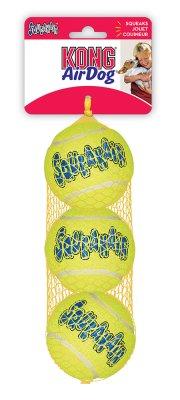 Kong Airdog Squeaker Tennisboll 3Pack M7Cm