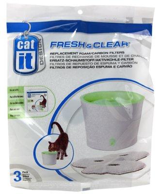 Filter Catit vannfontene Fresh & Clear 3 stk
