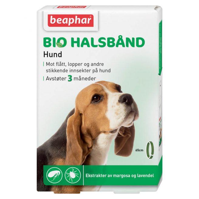 BEAPHAR Flåtthalsbånd til hund 65 cm