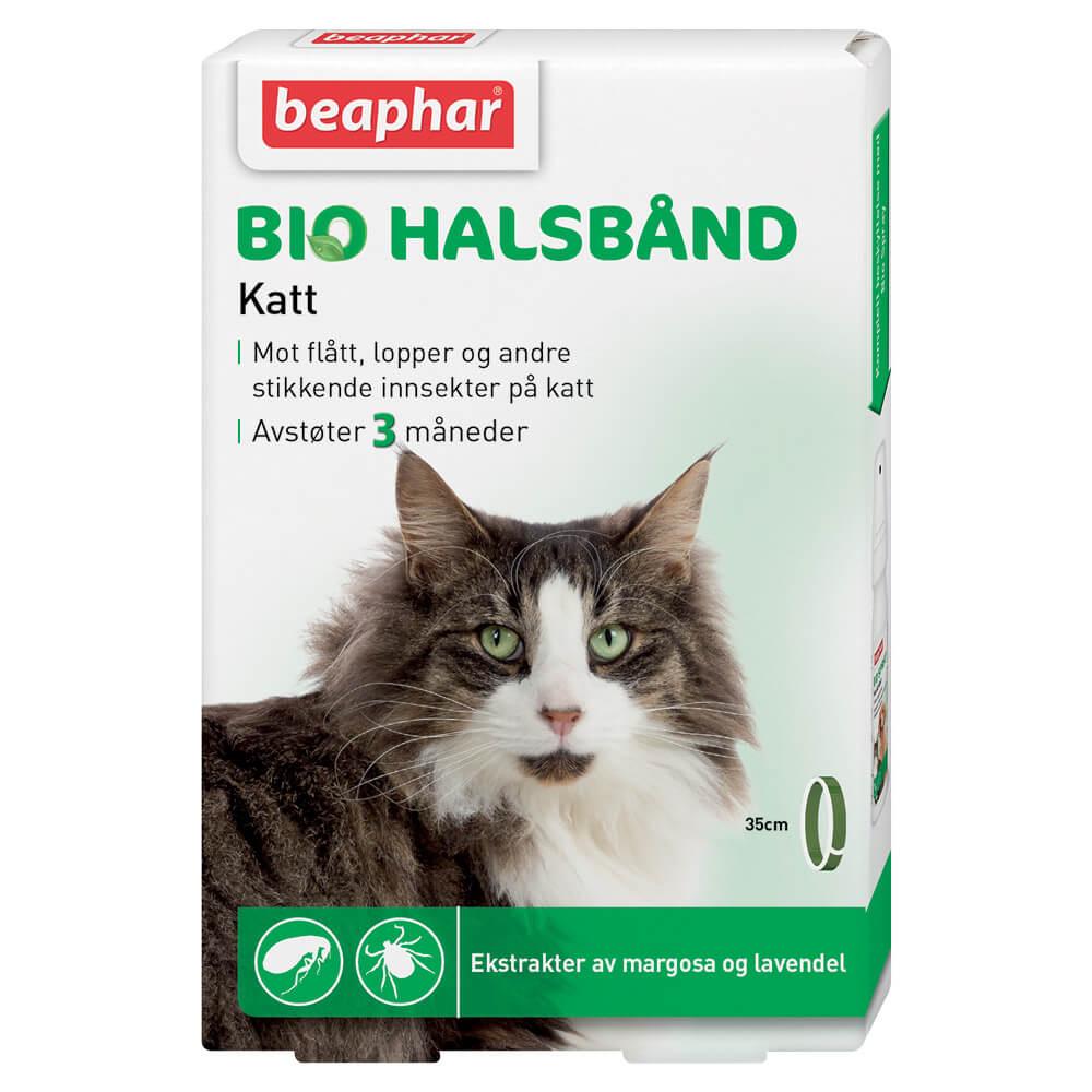 BEAPHAR Flåtthalsbånd til katt  35 cm