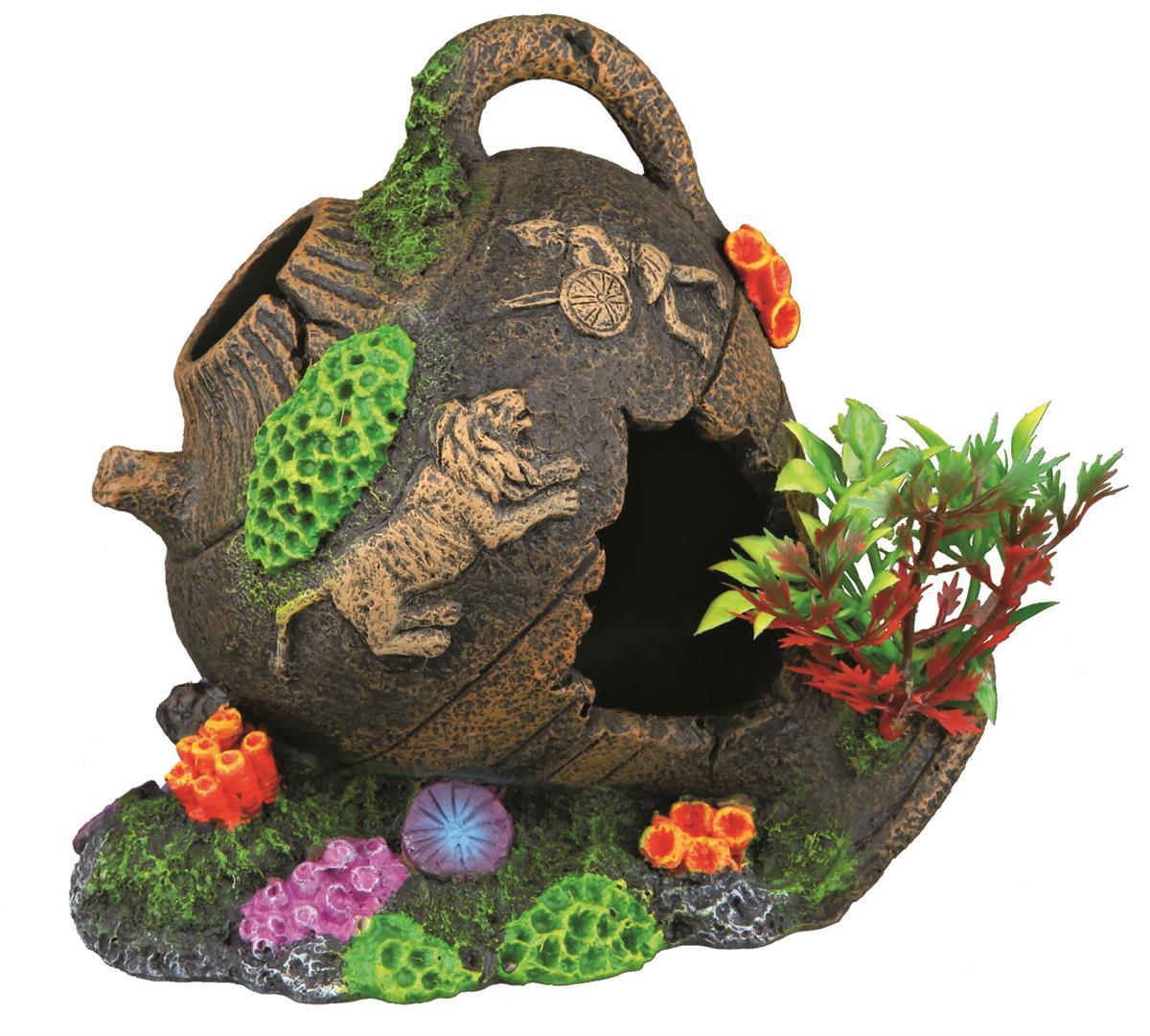 Akvariedekor Amphorae krukke 12 cm