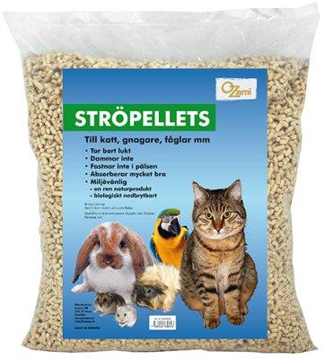 Bio strø pellets til bur 10 liter