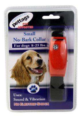 Antibjeffehalsbånd vibrerende small No-Bark