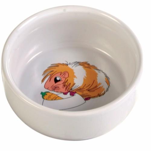 Matskål marsvin med motiv keramik Trixie
