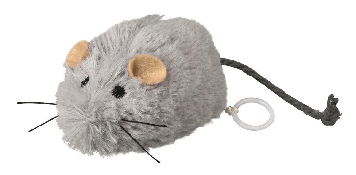 Leke mus opptrekkbar 8,5 cm