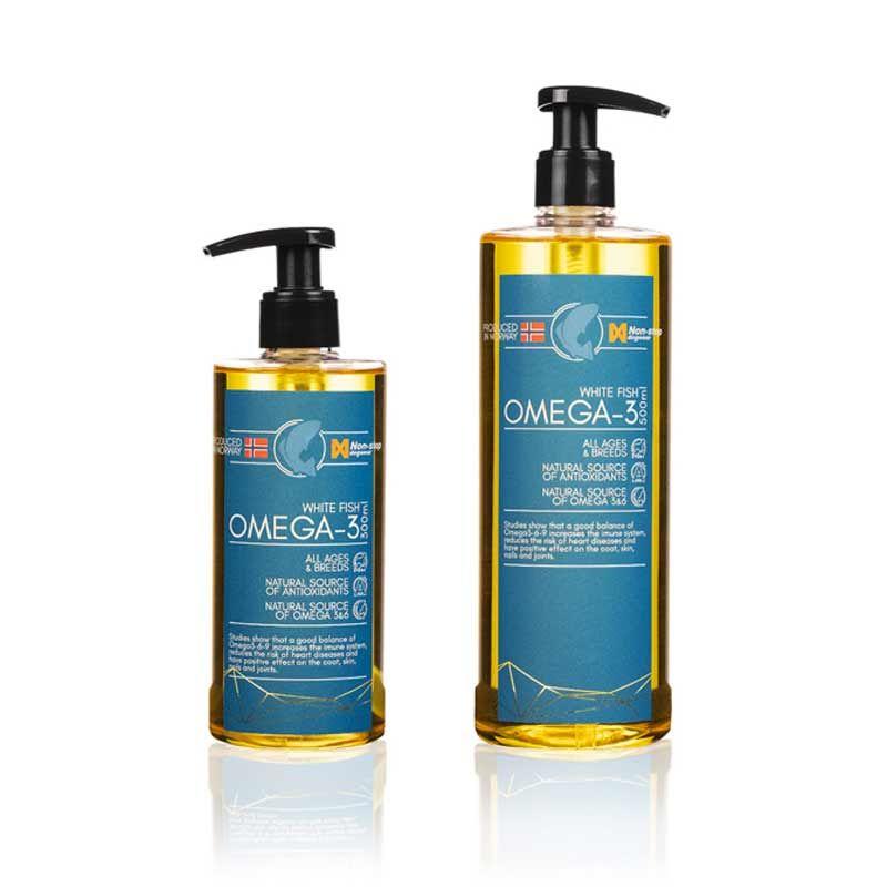 Non-stop Omega -3 olje White fish 500 ml