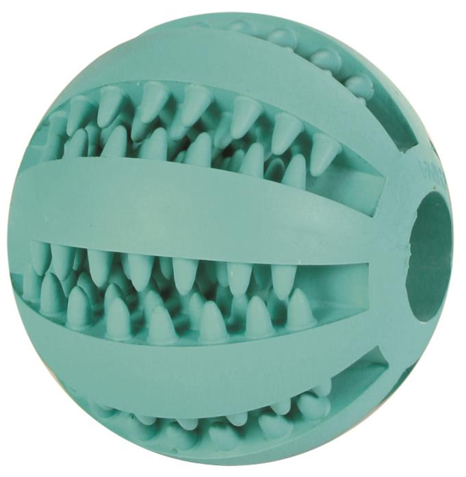Hundeleke Denta fun gummiball mint small