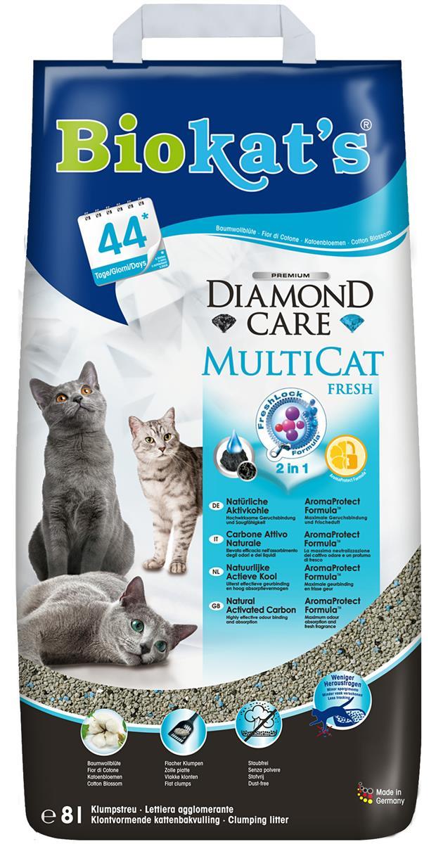 Biokats Diamond Care Multicat Fresh, 8 L Papir