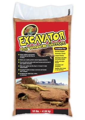 Reptil- Excavator Zoo Med Leiresubstrat 9 kg