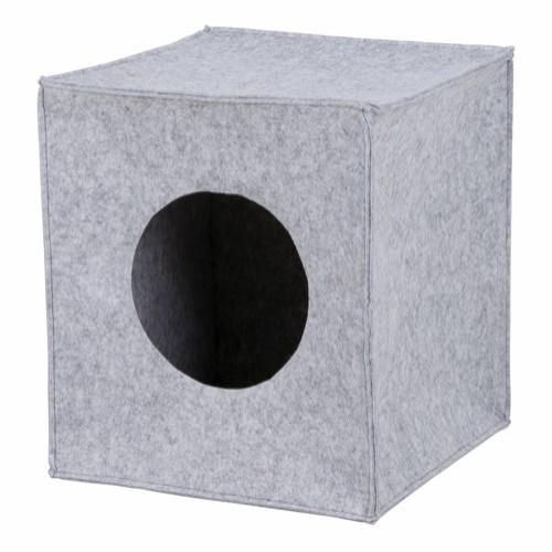 Kattehule Anton til Ikeahyller grå filt