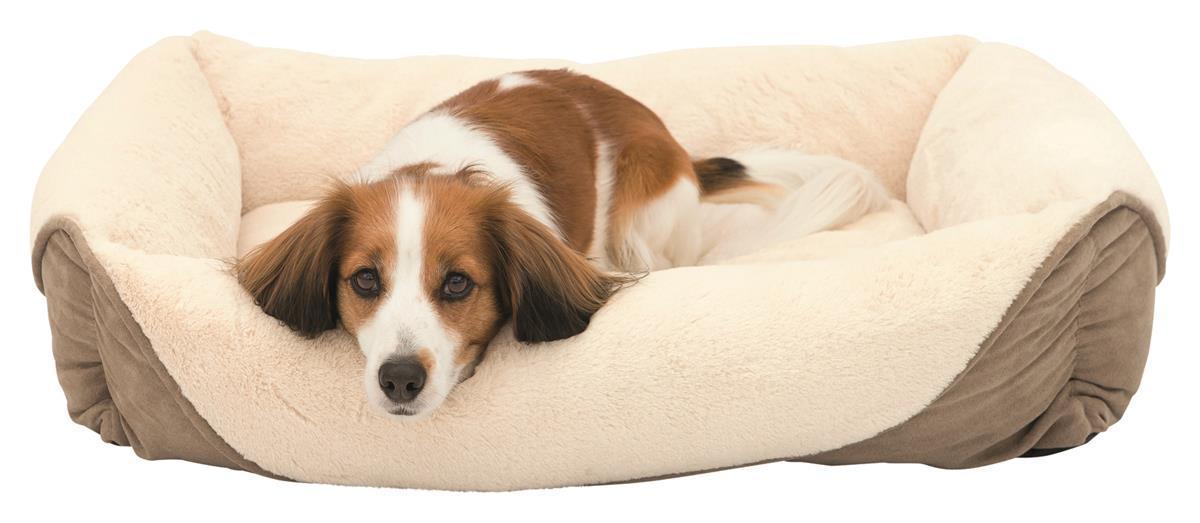 Hundeseng Pippa plysj 60x50 cm