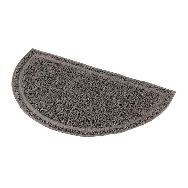 Kattebakke teppe PVC grå 41x25 cm