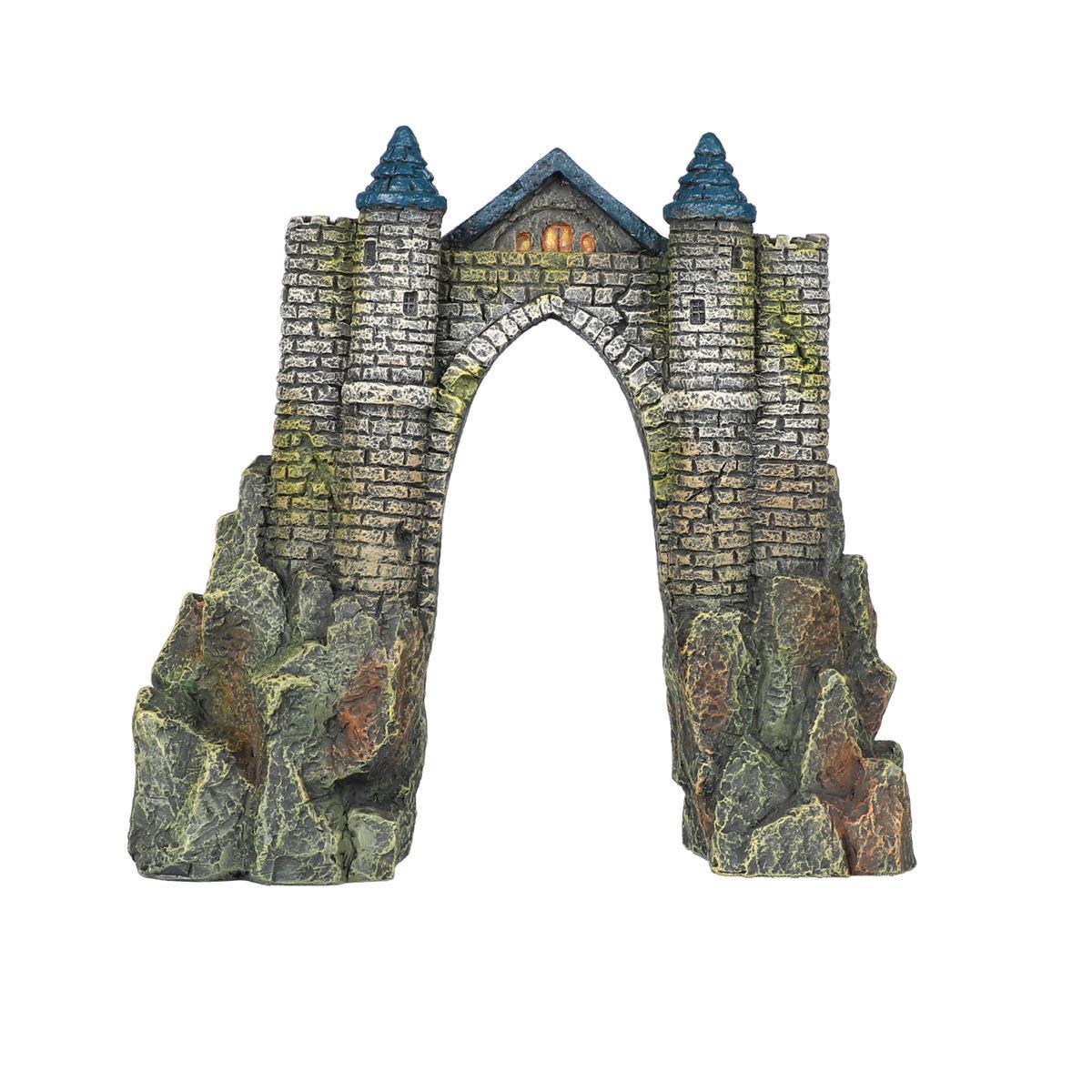 Akvariedekor Camelot Slott 20 cm