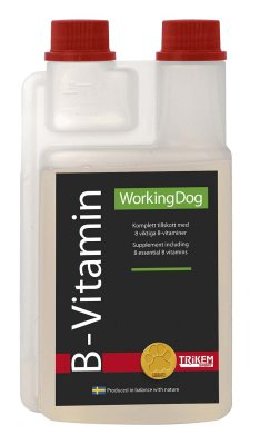 Working dog Trikem B-vitamin 500 ml