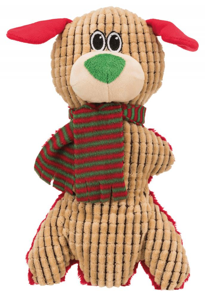 Juleleke plysj reinsdyr/bjørn/hund m/lyd 35 cm