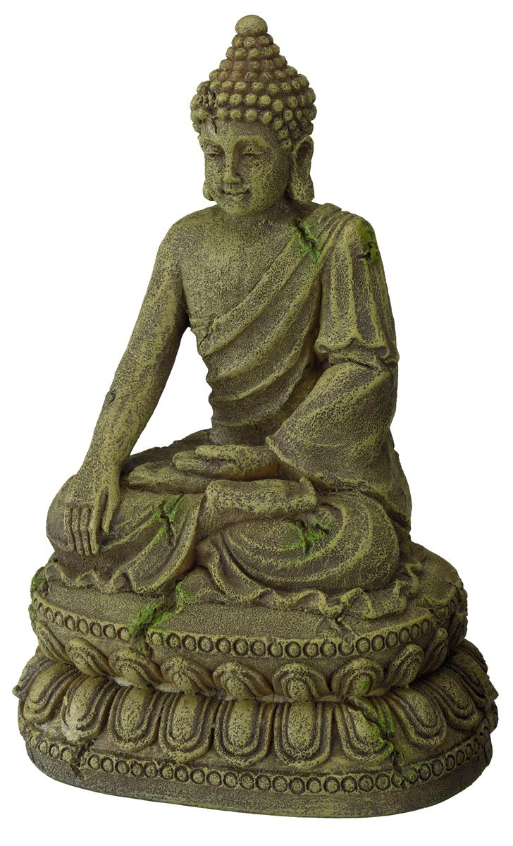 Akvariedekor Buddha 11x9x15,5 cm