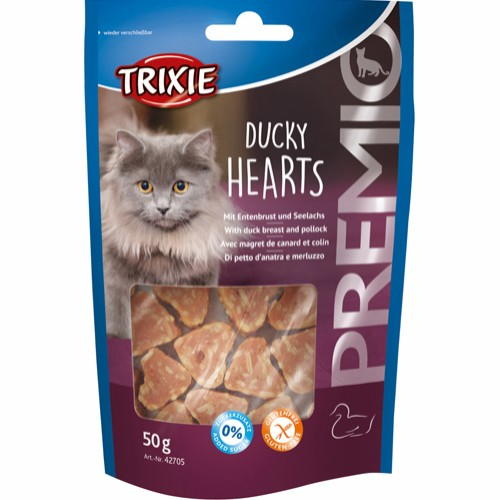 Trixie Ducky Hearts gobiter andebryst & sei