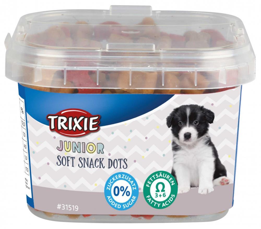 Trixie Junior Soft Snack Dots med omega 3, kylling