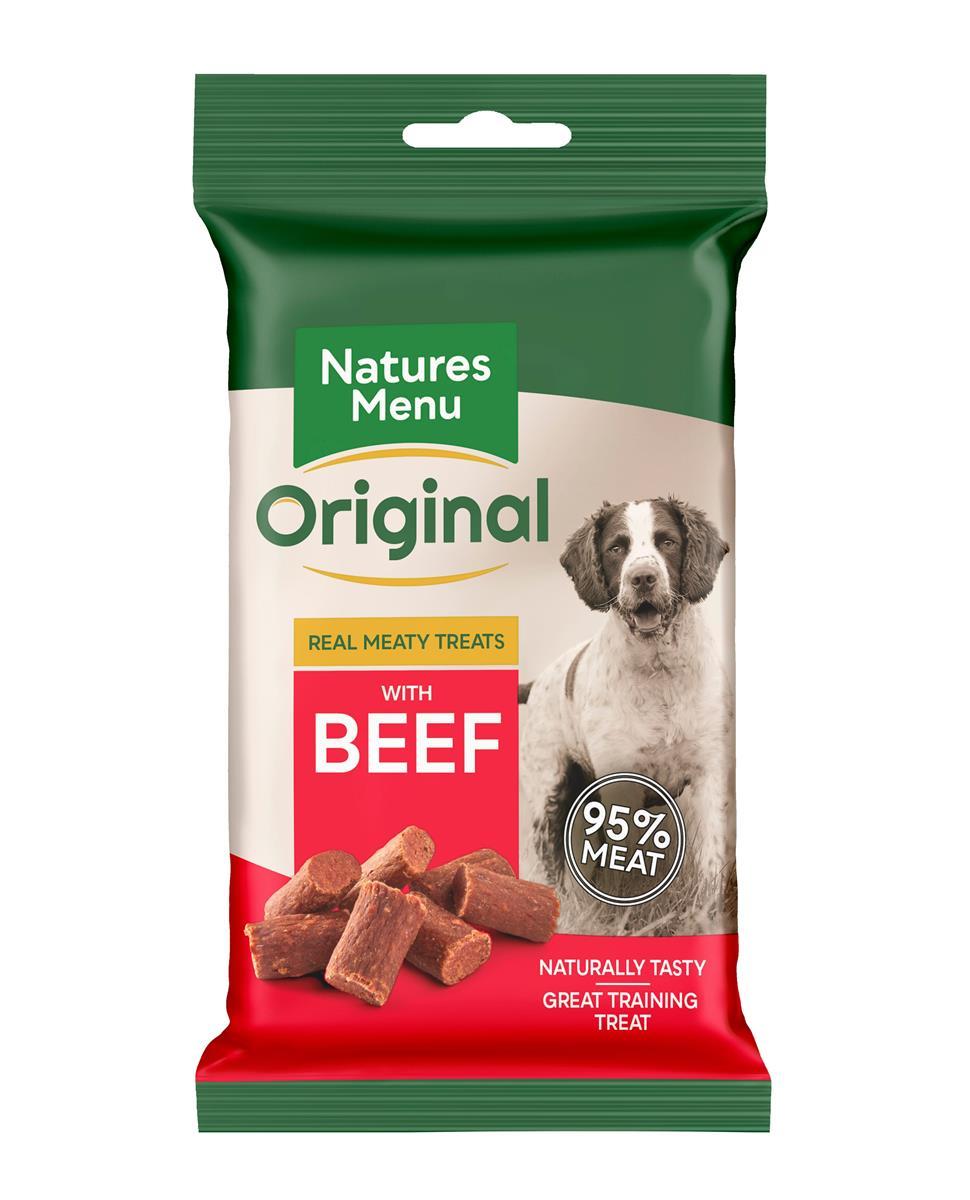NATURES:MENU Beef 60g Godbiter