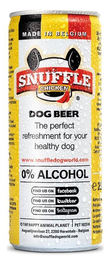 Øl til hund i boks