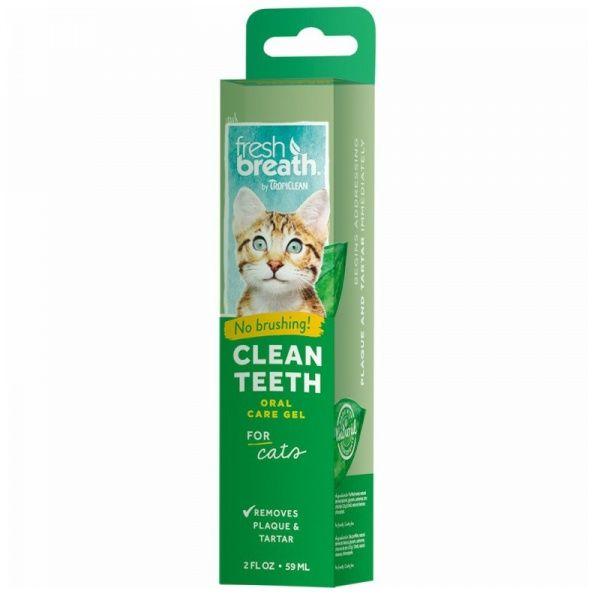Tropiclean clean teeth oral care gel for cats