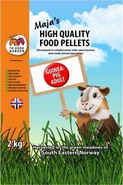 Marsvinpellets To Gode  Naboer 2 kg