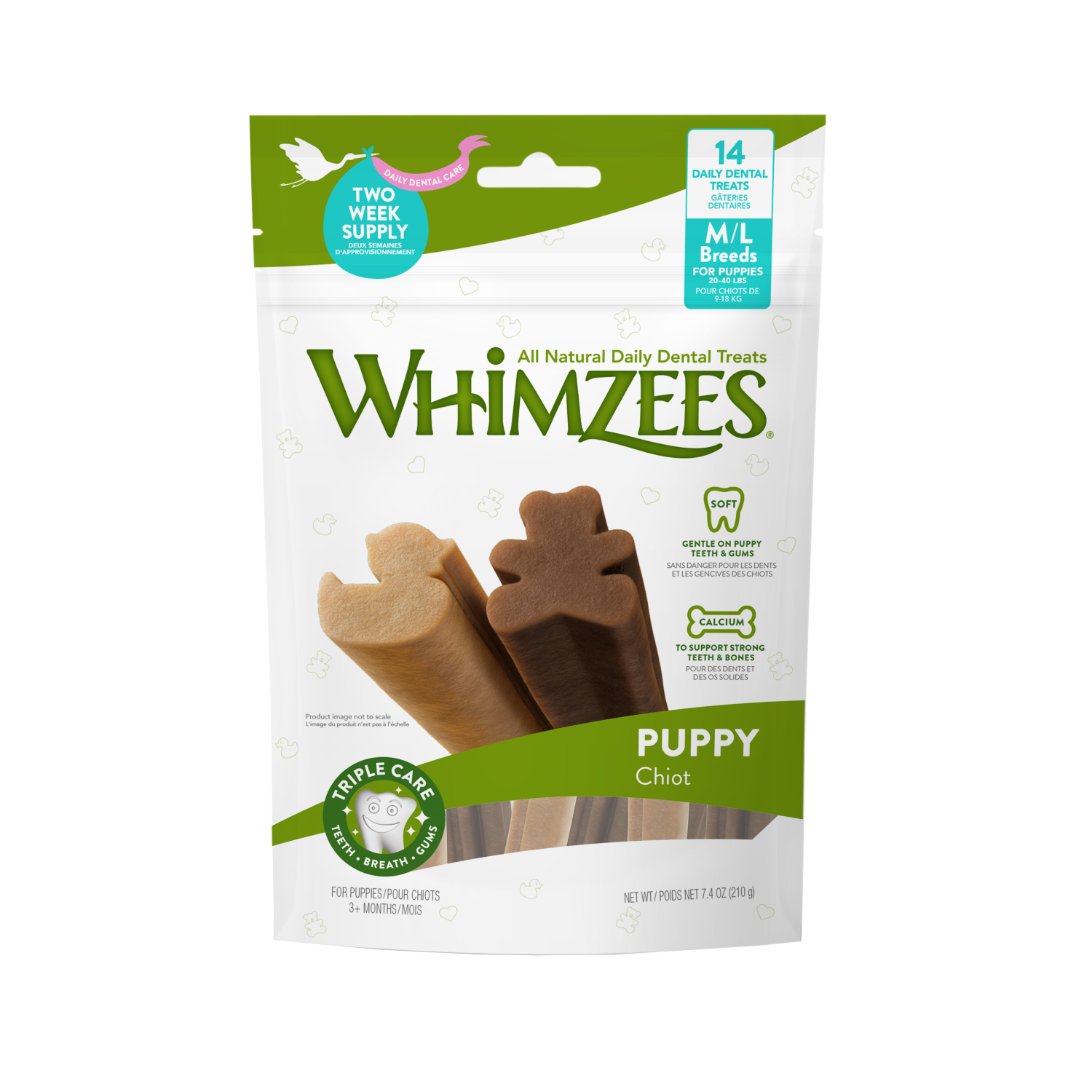 Whimzees puppy bag