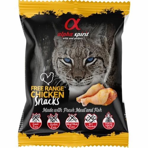 AlphaSpirit Free Range Chicken Snack 50g
