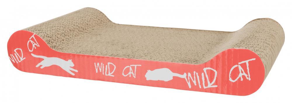 Klorebrett med catnip i papp liggende 41x7x24 cm