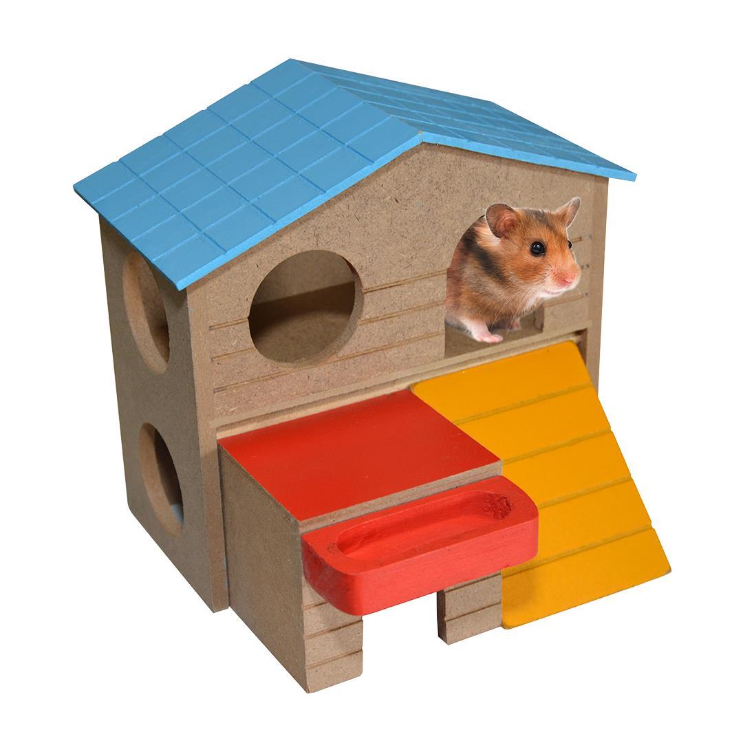 Hus til smådyr Hamstervilla 13x16x15 cm