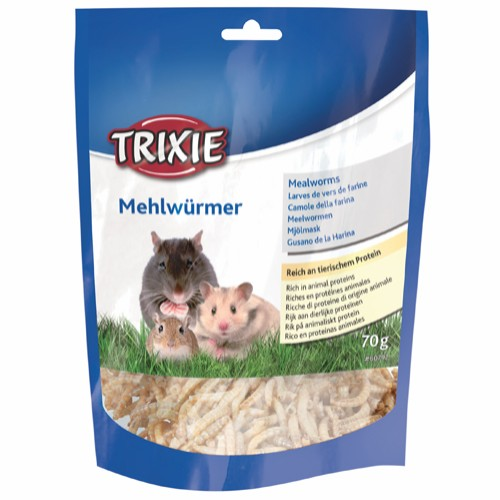 Tørkede melormer til smådyr 70 gr