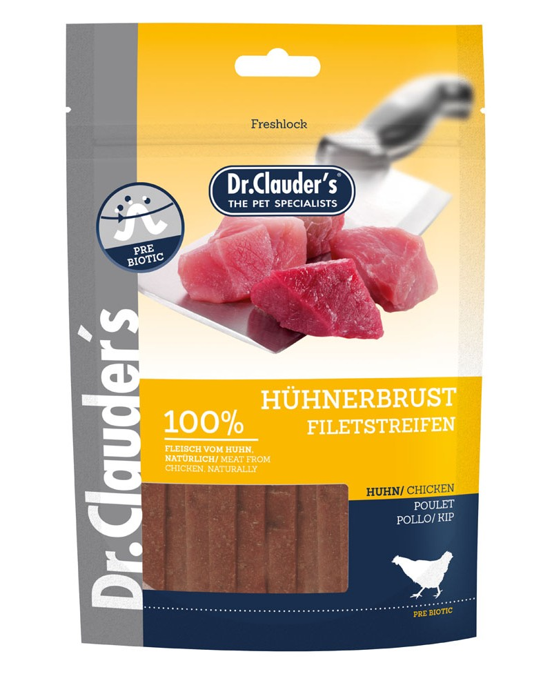 Dr Clauders Filet strips 80 gr