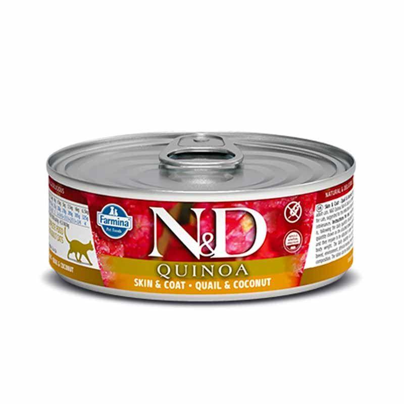 Farmina våtfòr N&D katt Quinoa 80 gr