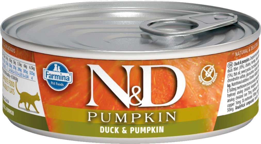 Farmina våtfòr N&D katt Pumpkin 80 gr