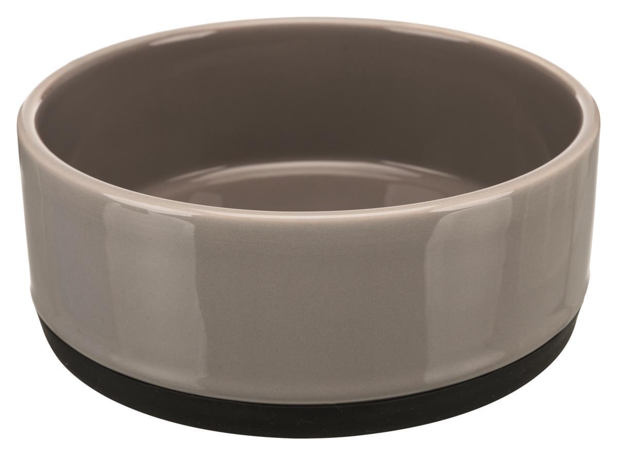 Matskål hund keramikk med antiskli 0,75 l