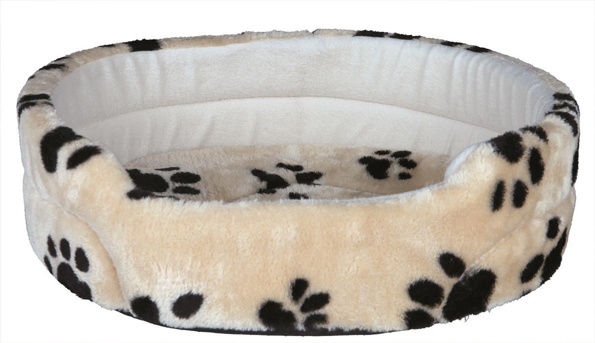 Hundeseng plysj Charly med kant 79x70 cm