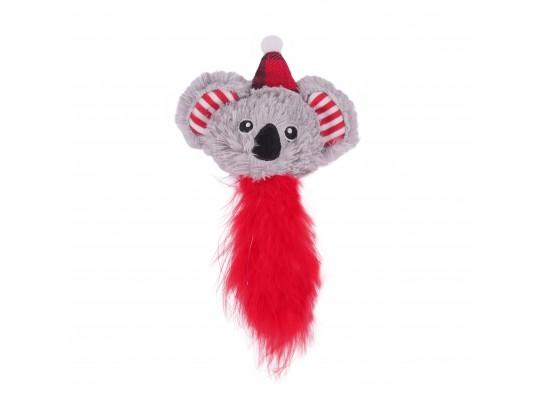 Rosewood christmas koala cat toy