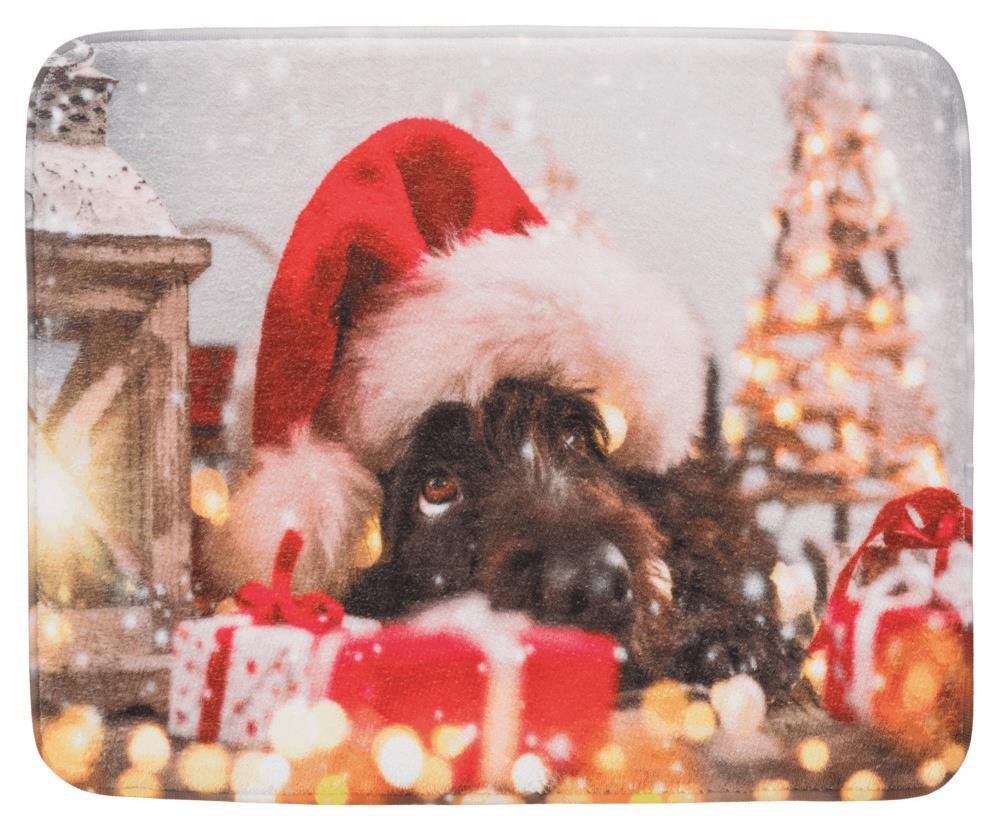 Julematte til hund 50x40 cm