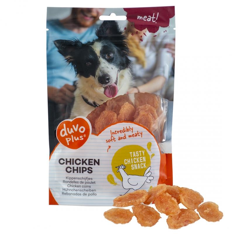 Chicken Duvo plus snacks hund 80 gr