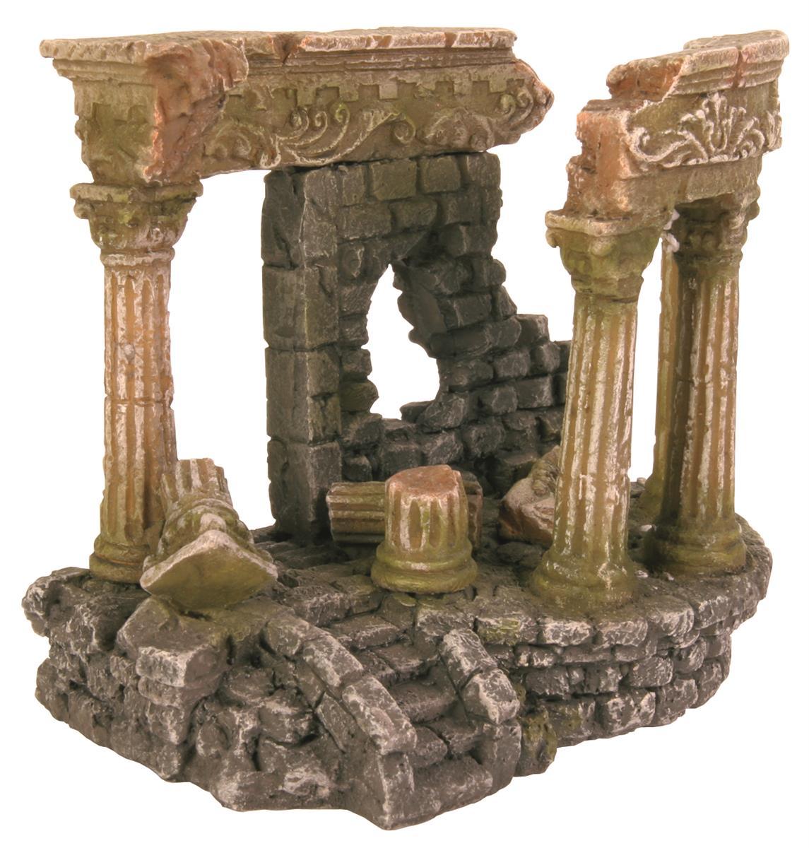 Akvariedekor Romersk ruin 27cm