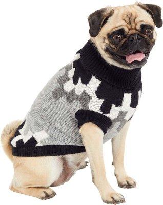 Go Fresh strikket genser hund medium