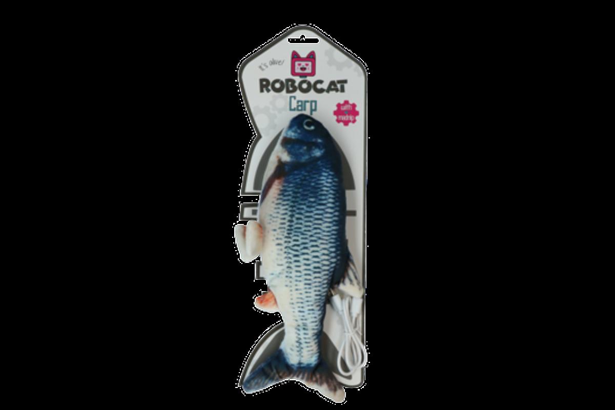 Katteleke Robocat sprellende fisk